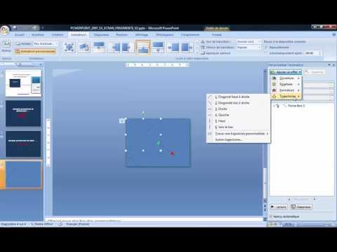 Powerpoint 2007 : Comment faire un écran fragmenté V2 sur Powerpoint en moins de 4 min.