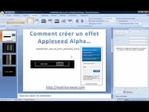 POWERPOINT_2007_EX_EFFET_APPLESEED_ALPHA_PUB